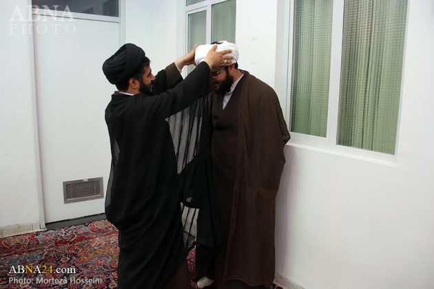 مراسم اعتمار العمامة في عيد الغدير14