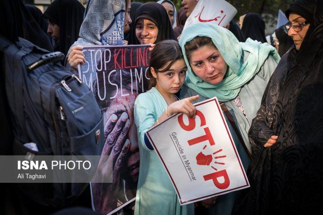 جامعيون يعتصمون امام مكتب الامم المتحدة بطهران14