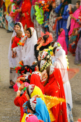 Symphony of Colours in Iran's Local Wedding Ceremonies14