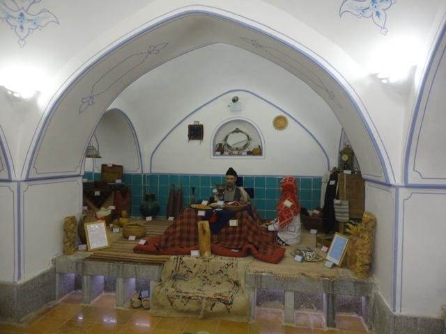 Old Bathhouse in Central Iran Turned into Anthropology Museum