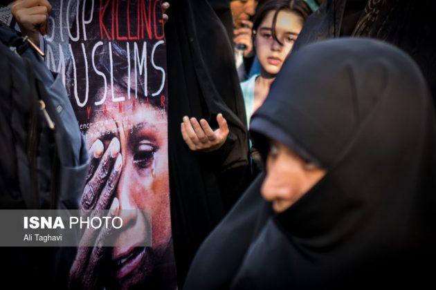 جامعيون يعتصمون امام مكتب الامم المتحدة بطهران15