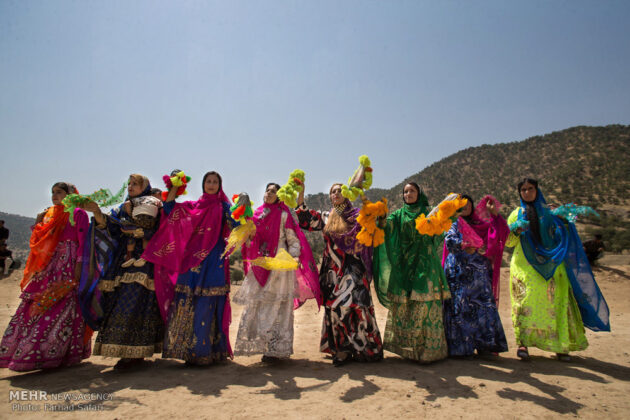 Symphony of Colours in Iran's Local Wedding Ceremonies15