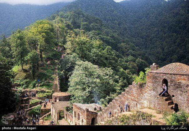 Iran's Beauties in Photos: Enchanting Rudkhan Castle15