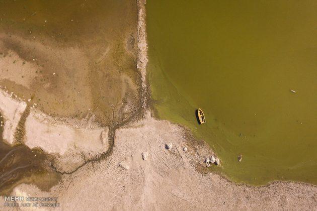 بحيرات محافظة مازندران الايرانية تواجه خطر الجفاف15