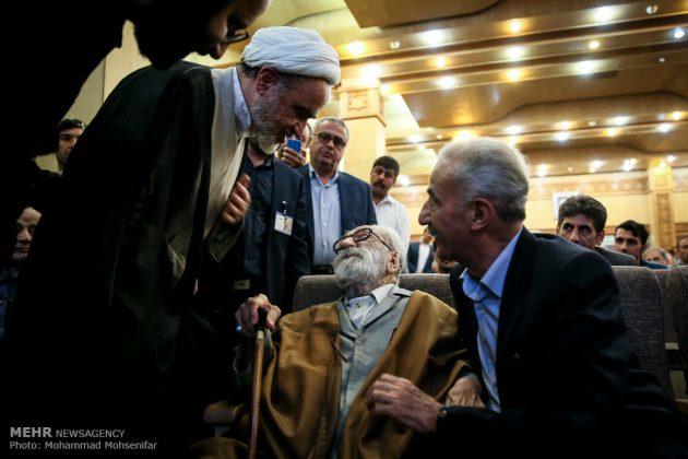 """مراسم تأبين وزير الخارجية الايراني الاسبق """"ابراهيم يزدي""""15"""