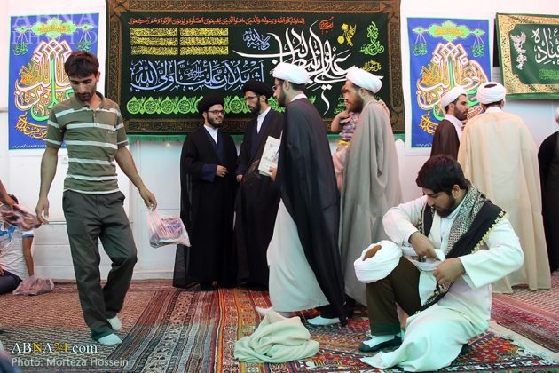 مراسم اعتمار العمامة في عيد الغدير16