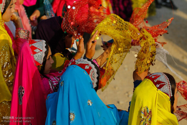 Symphony of Colours in Iran's Local Wedding Ceremonies16