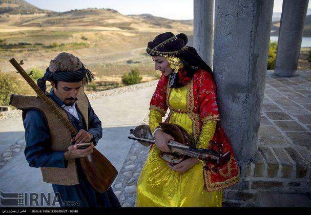 """مهرجان """"الطنبور"""" فی کرمانشاه الايرانية16"""
