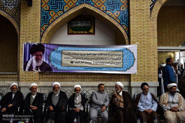 """افتتاح العام الدراسي الجديد في حوزة """"خراسان"""" الدينية16"""