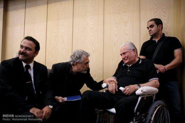 """مراسم تأبين وزير الخارجية الايراني الاسبق """"ابراهيم يزدي""""16"""