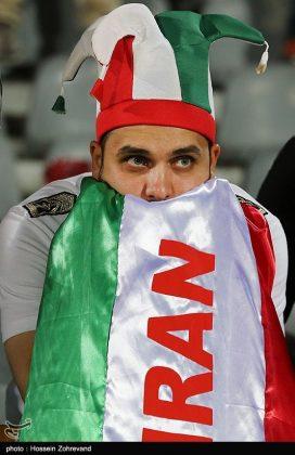 لقاء منتخبي إيران وسوريا لكرة القدم17