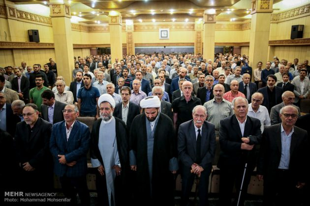 """مراسم تأبين وزير الخارجية الايراني الاسبق """"ابراهيم يزدي""""18"""