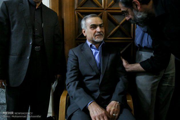 """مراسم تأبين وزير الخارجية الايراني الاسبق """"ابراهيم يزدي""""19"""