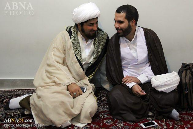 مراسم اعتمار العمامة في عيد الغدير2