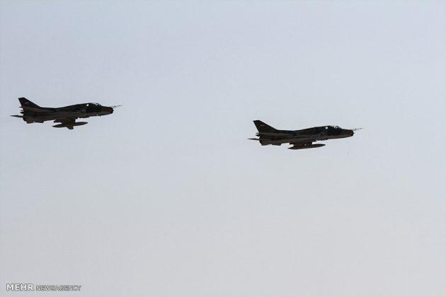 """مناورات القوات الجوية الإيرانية في """"بندرعباس""""2"""