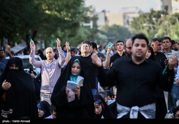 مراسم دعاء يوم عرفة في طهران 20