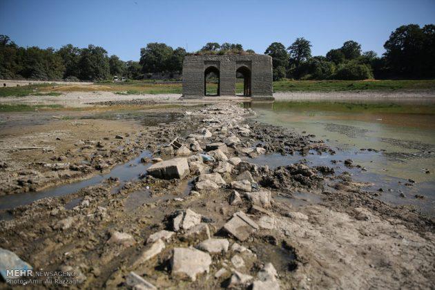 بحيرات محافظة مازندران الايرانية تواجه خطر الجفاف20