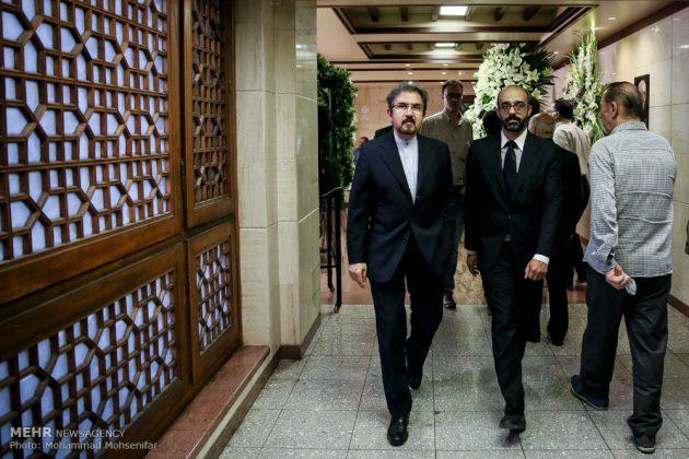 """مراسم تأبين وزير الخارجية الايراني الاسبق """"ابراهيم يزدي""""20"""
