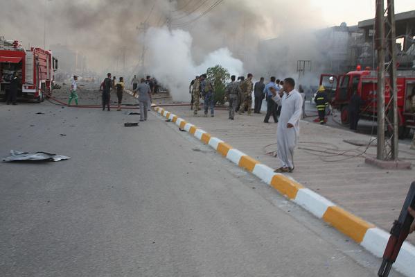 جثامين الضحايا الايرانيين العشرة بهجوم جنوب العراق تصل ايران