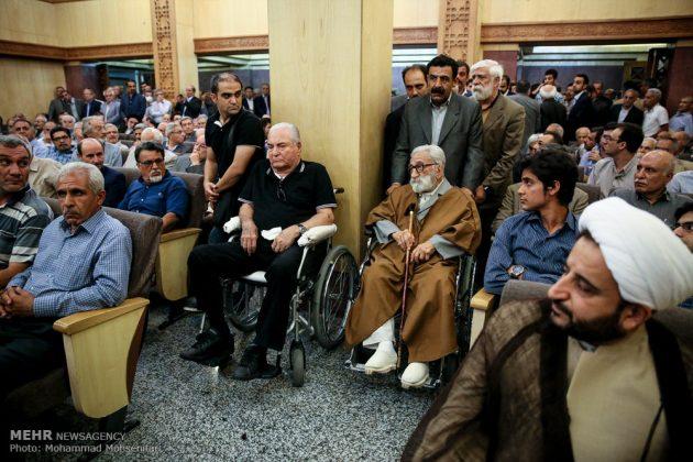 """مراسم تأبين وزير الخارجية الايراني الاسبق """"ابراهيم يزدي""""21"""