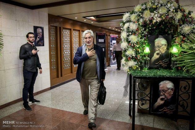"""مراسم تأبين وزير الخارجية الايراني الاسبق """"ابراهيم يزدي""""22"""