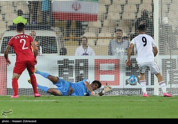 لقاء منتخبي إيران وسوريا لكرة القدم23