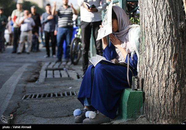 مراسم دعاء يوم عرفة في طهران 24