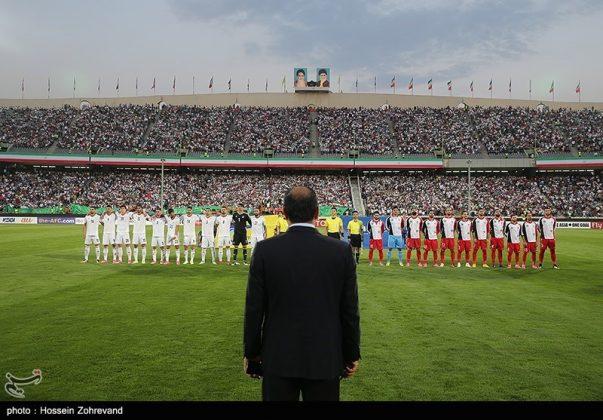لقاء منتخبي إيران وسوريا لكرة القدم24