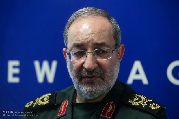 عسكري ايراني .. لا يمكن لامريكا اتخاذ أي قرار بشأن قدرات ايران الدفاعية