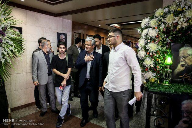 """مراسم تأبين وزير الخارجية الايراني الاسبق """"ابراهيم يزدي""""25"""