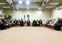 القائد الخامنئي یستقبل رئیس واعضاء مجمع تشخیص مصلحة النظام