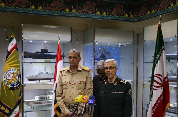 الاركان الايرانية تبدي استعدادها للتعاون مع الجيش العراقي لضبط الحدود