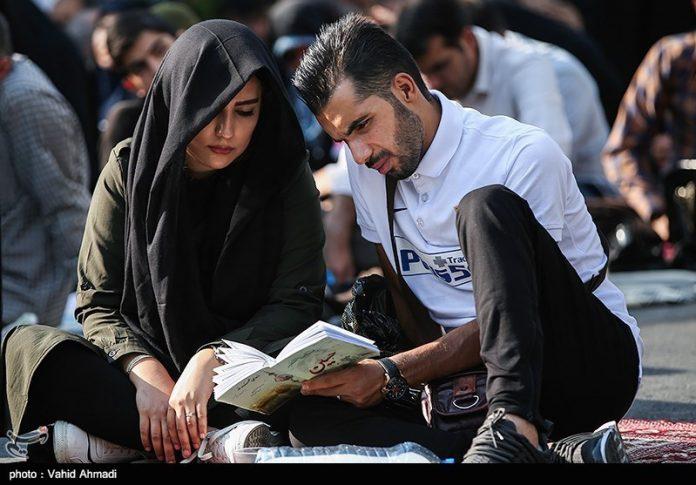 مراسم دعاء يوم عرفة في طهران 27