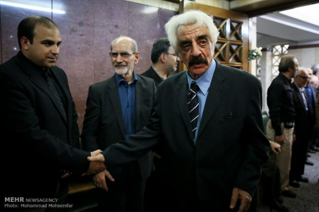 """مراسم تأبين وزير الخارجية الايراني الاسبق """"ابراهيم يزدي""""27"""