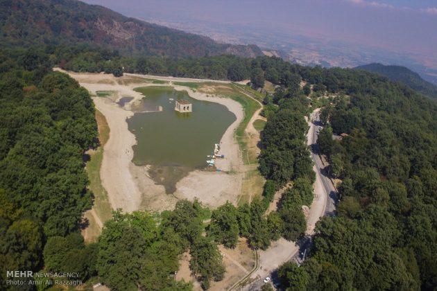 بحيرات محافظة مازندران الايرانية تواجه خطر الجفاف3