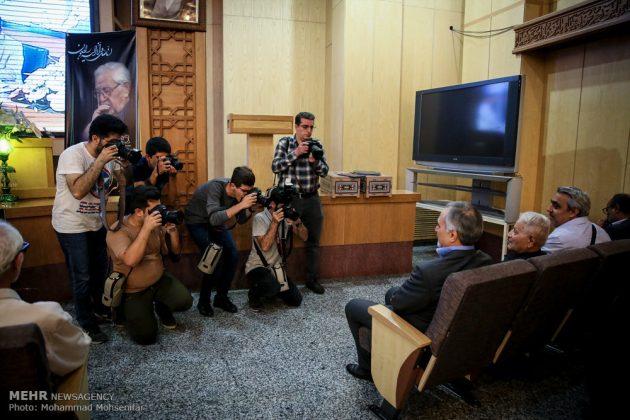 """مراسم تأبين وزير الخارجية الايراني الاسبق """"ابراهيم يزدي""""3"""