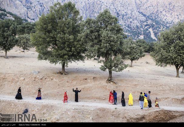 مراسيم زواج العشائر البختیاریة3
