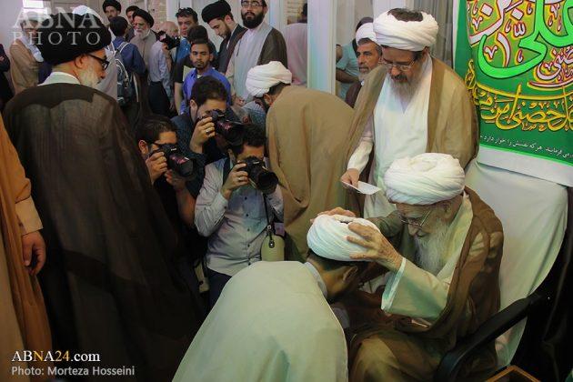 مراسم اعتمار العمامة في عيد الغدير3