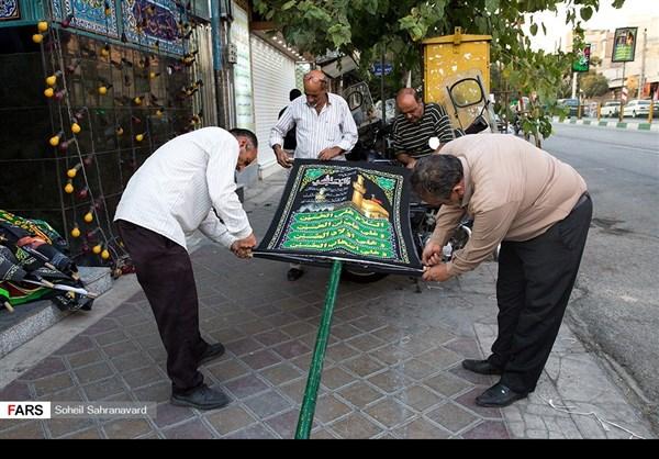 طهران تلبس ثوب الحزن بمناسبة عاشوراء 3