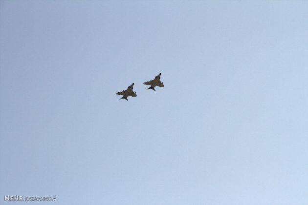 """مناورات القوات الجوية الإيرانية في """"بندرعباس""""3"""
