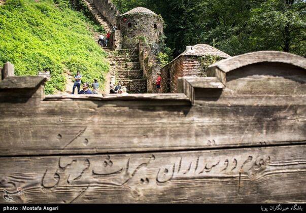 Iran's Beauties in Photos: Enchanting Rudkhan Castle3