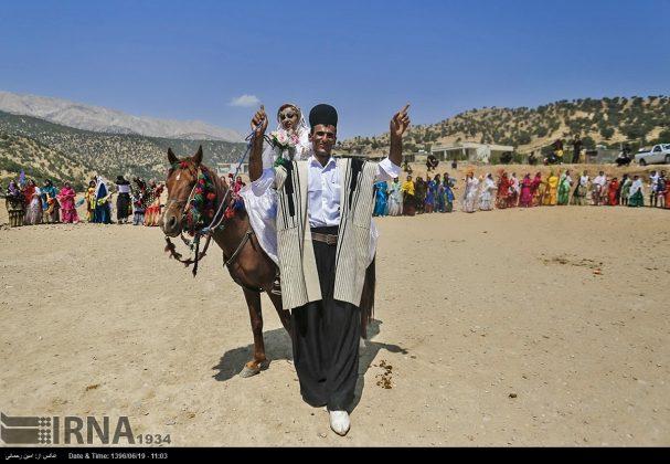 مراسيم زواج العشائر البختیاریة31