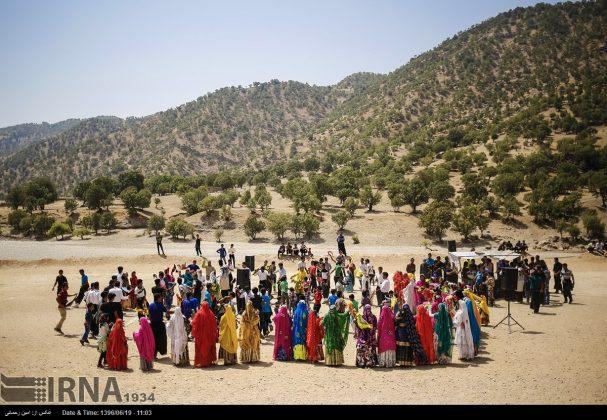 مراسيم زواج العشائر البختیاریة34