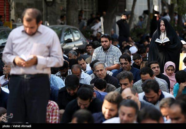 مراسم دعاء يوم عرفة في طهران 4