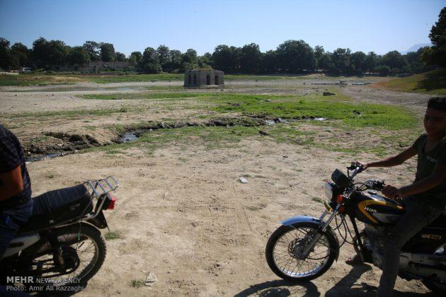 بحيرات محافظة مازندران الايرانية تواجه خطر الجفاف4