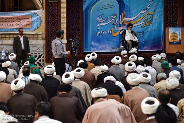 """افتتاح العام الدراسي الجديد في حوزة """"خراسان"""" الدينية4"""