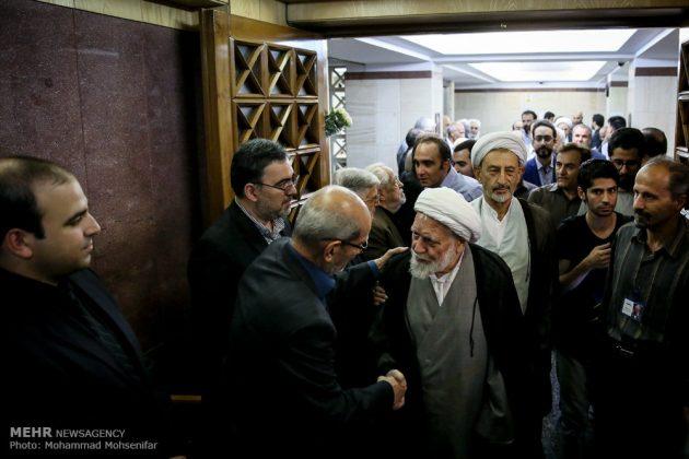 """مراسم تأبين وزير الخارجية الايراني الاسبق """"ابراهيم يزدي""""4"""