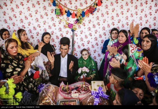مراسيم زواج العشائر البختیاریة4