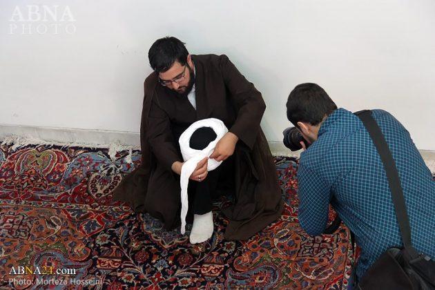 مراسم اعتمار العمامة في عيد الغدير4