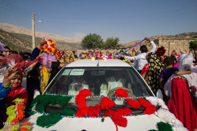 Symphony of Colours in Iran's Local Wedding Ceremonies4